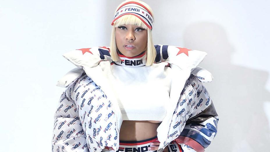 Nicki Minaj attends the Fendi show during Milan Fashion Week Spring/Summer 2019 - Getty -H 2019