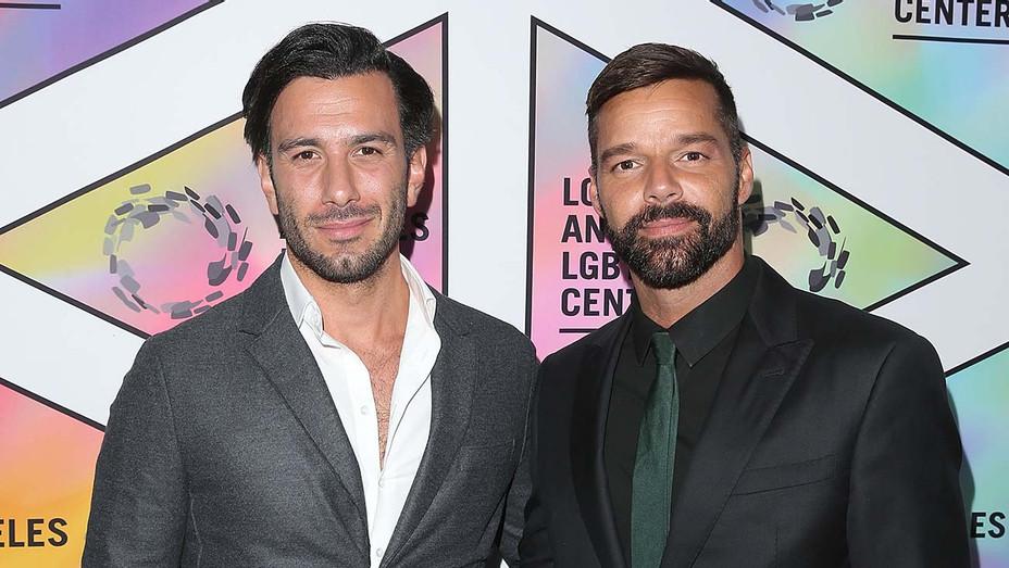 Ricky Martin and Husband Jwan Yosef — Getty — H 2019