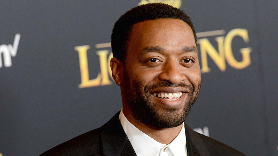 """Chiwetel Ejiofor arrives for the Premiere Of Disney's """"The Lion King"""" - Getty-H 2019"""