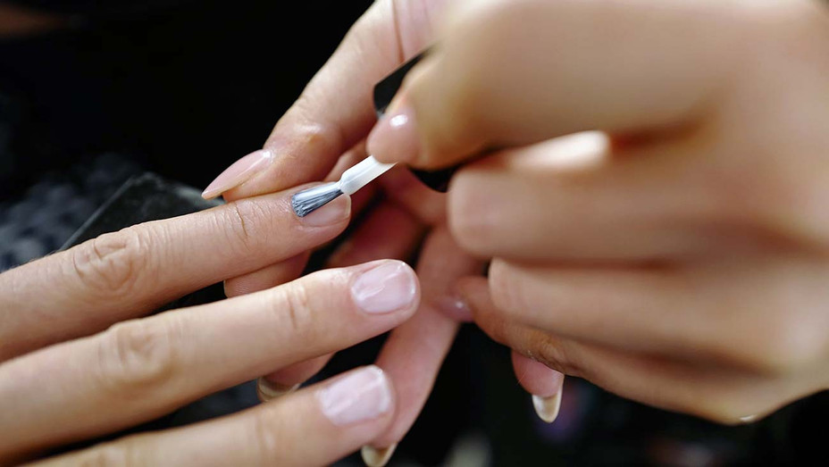 Nail color applied backstage - Getty - H 2019