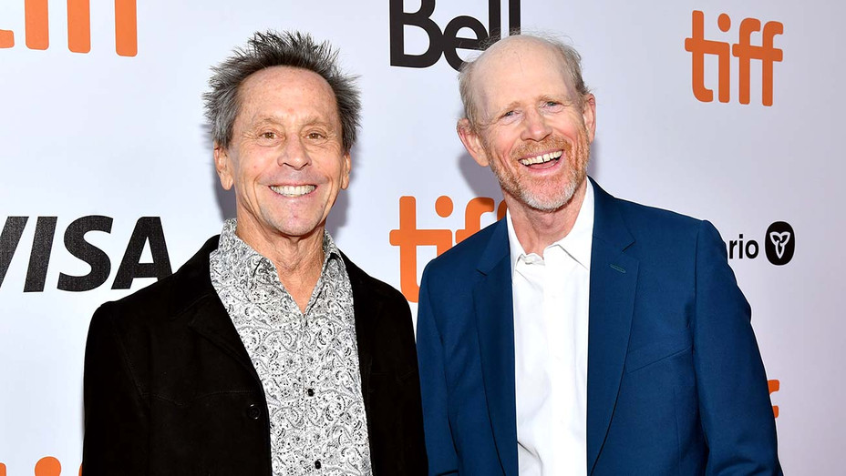 Brian Grazer and Ron Howard - Once Were Brothers: Robbie Robertson And The Band TIFF premiere - Getty-H 2019