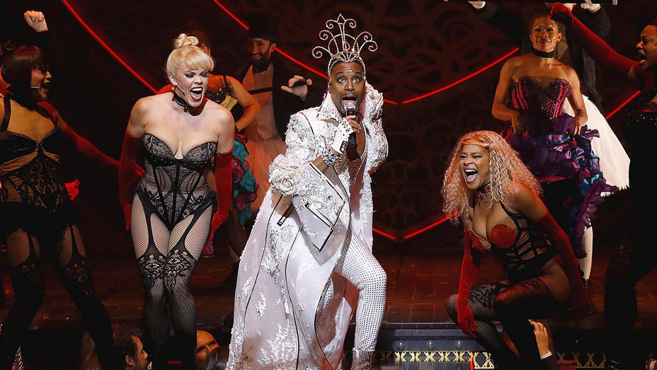 Billy Porter performs on the runway or The Blonds x Moulin Rouge - Getty-H 2019