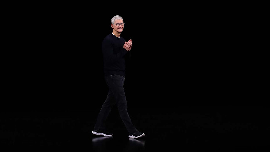 Apple CEO Tim Cook delivers the keynote address during an Apple special event on September 10, 2019 - Getty-H 2019