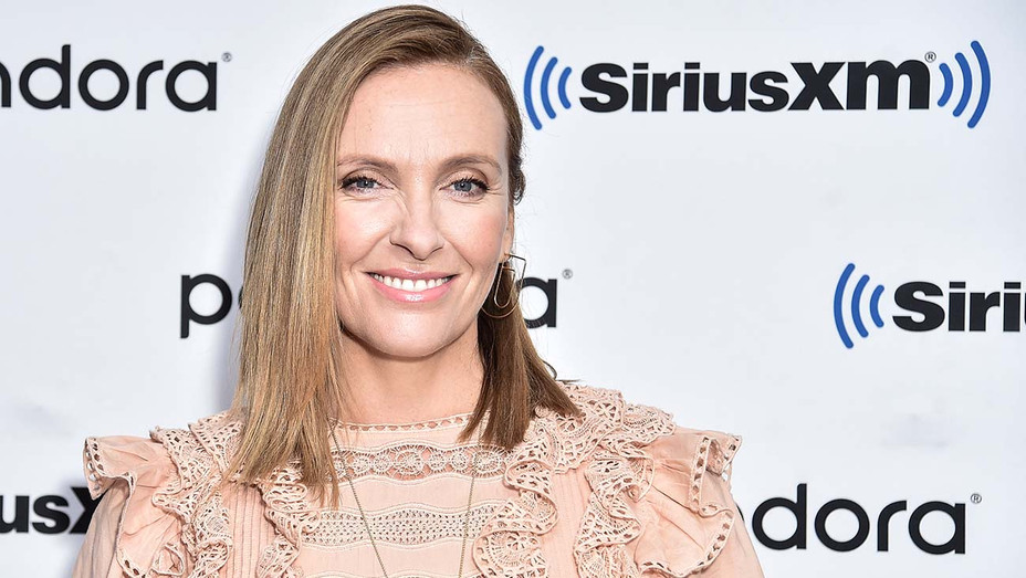Toni Collette visits SiriusXM Studios on September 10, 2019 - Getty-H 2019