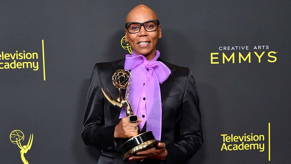 RuPaul poses with the Outstanding Host for a Reality or Competition Program Award -September 14, 2019 -Getty-H 2019