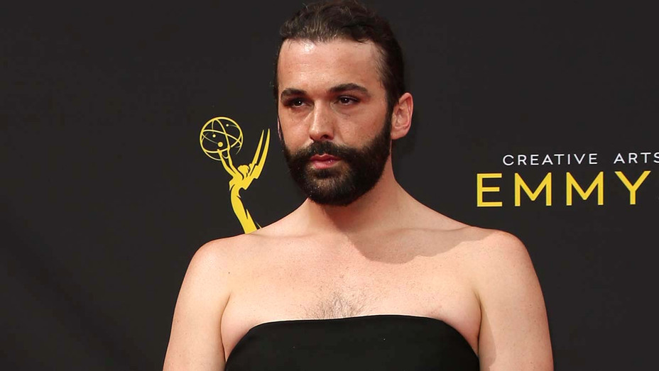 Jonathan Van Ness attends the 2019 Creative Arts Emmy Awards- Getty -H 2019