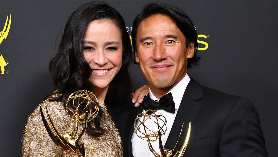 Elizabeth Chai Vasarhelyi and Jimmy Chin - Outstanding Directing for a Documentary-Nonfiction Program Award - Getty-H 2019
