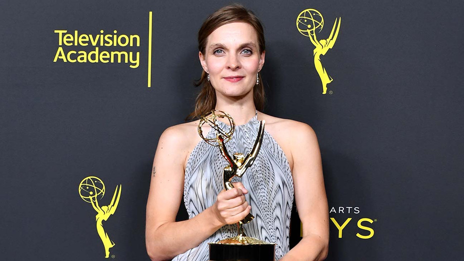Hildur Gudnadottir wins at the 2019 Creative Arts Emmy Awards - Getty - H 2019