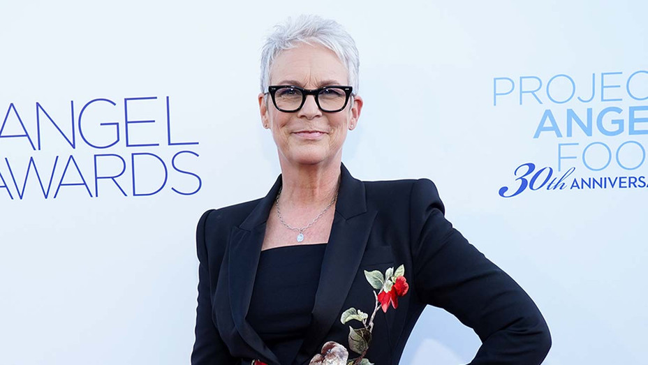 Jamie Lee Curtis attends Project Angel Food's Angel Awards Gala - Getty - H 2019