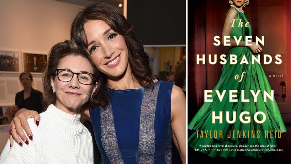 Jennifer Beals and Ilene Chaiken_The Seven Husbands of Evelyn Hugo_Split - Publicity - H 2019