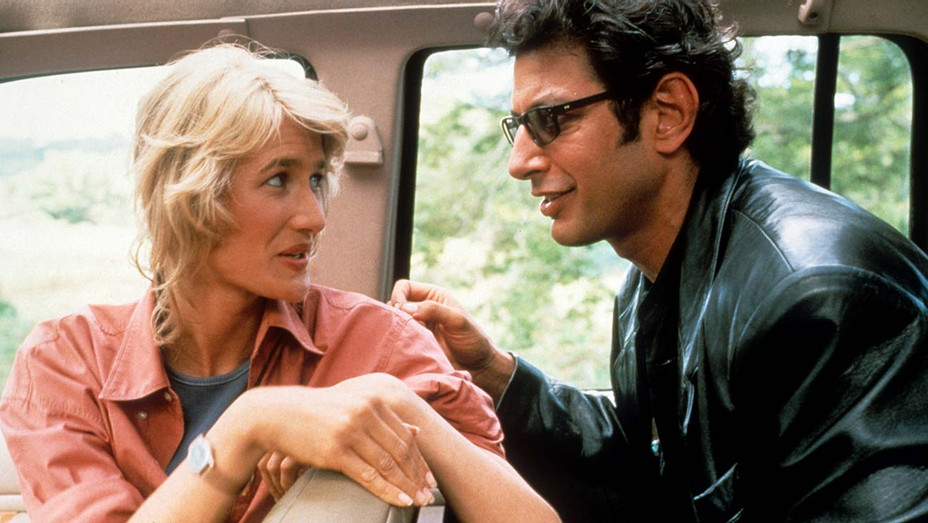 Jurassic Park (1993)  -  Laura Dern, Jeff Goldblum - Photofest-H 2019