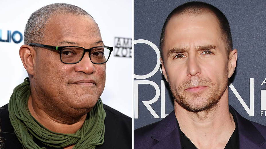 Laurence Fishburne and Sam Rockwell  Split- Getty-H 2019