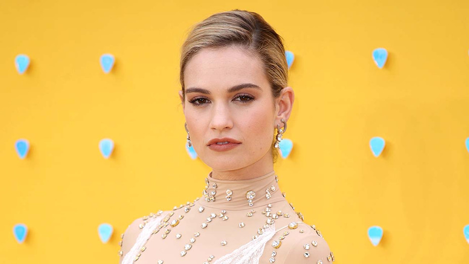 Lily James - Getty - H 2019
