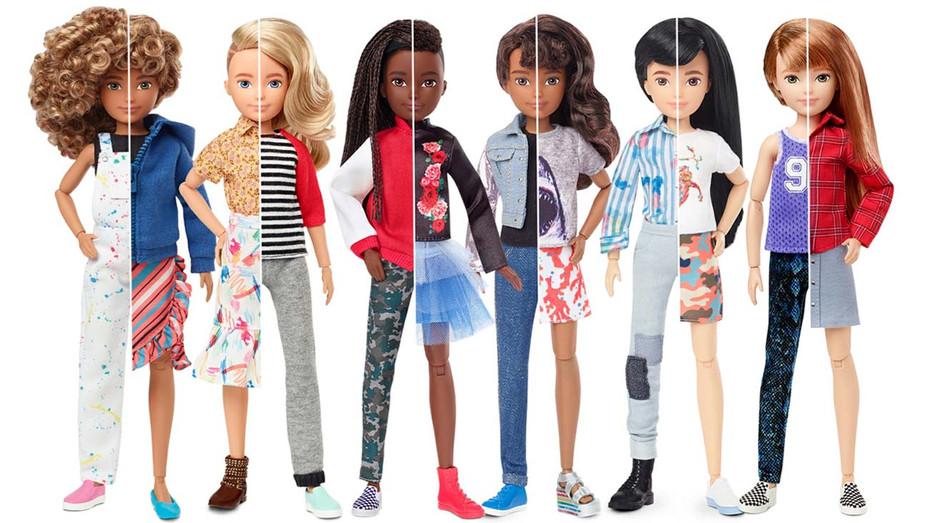 Mattel dolls- Publicity - H 2019