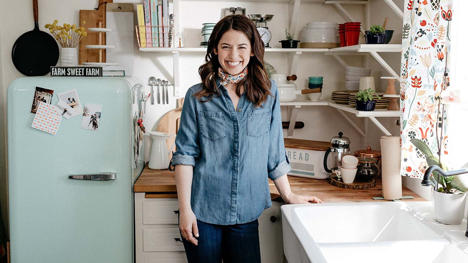 Molly Yeh, as seen on Girl Meets Farm, Season 1 - Television Food Network Publicity-H 2019