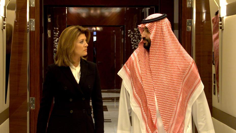 Norah O'Donnell & Saudi Arabia Crown Prince Mohammad bin Salman 60 Minutes - H Publicity 2019
