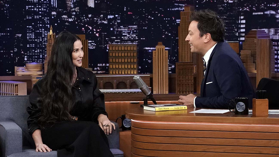 THE TONIGHT SHOW STARRING JIMMY FALLON -  Episode 1125  - Demi Moore - Publicity-H 2019