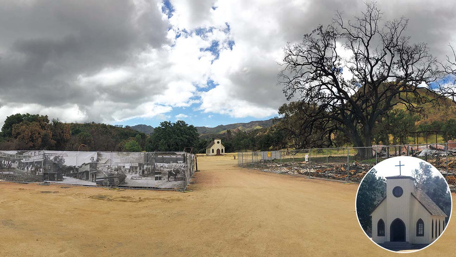 National Park Service -Paramount Ranch inset of Church- Publicity-H 2018