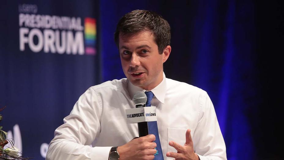 Pete Buttigieg_LGBTQ presidential forum - Getty - H 2019