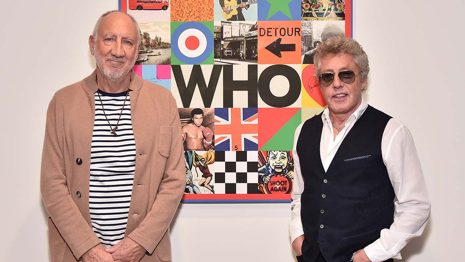 Pete Townshend and Roger Daltrey - Getty - H 2019