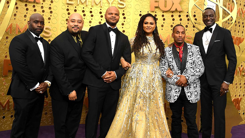 Exonerated 5 with Ava DuVerney at the 71st Emmy Awards  - Getty - H 2019