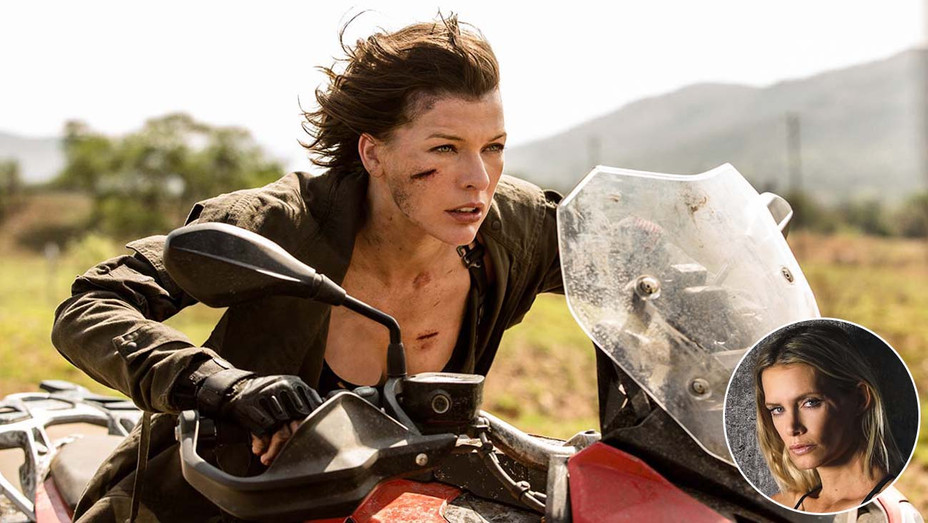 Resident Evil: The Final Chapter inset of Olivia Jackson- Photofest -Publicity- H 2019