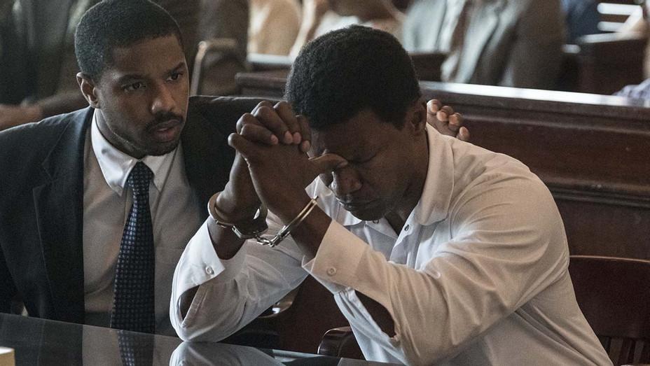 Just Mercy Still 2 - MICHAEL B. JORDAN - JAMIE FOXX - Warner Bros. Pictures Publicity-H 2019
