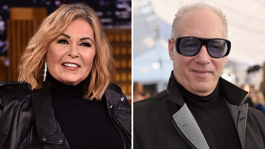 Roseanne Barr and Andrew Dice Clay-Split-Getty-H 2019