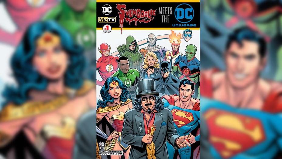 Svengoolie Meets the DC Universe Cover - Chris Jones - DC - Publicity-H 2019
