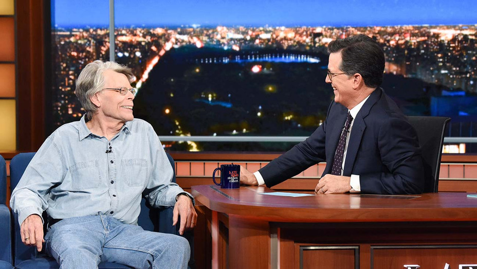 The Late Show with Stephen Colbert - Stephen King- Publicity Still - H 2019