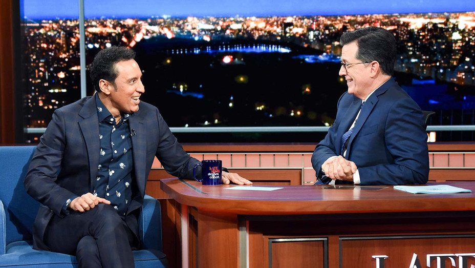 The Late Show with Stephen Colbert -Aasif Mandvi- Publicity-H 2019