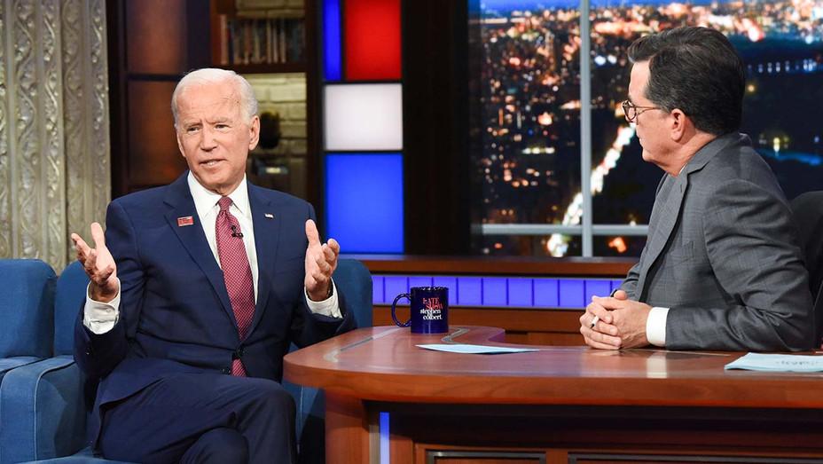 The Late Show with Stephen Colbert _Joe Biden - Publicity - H 2019