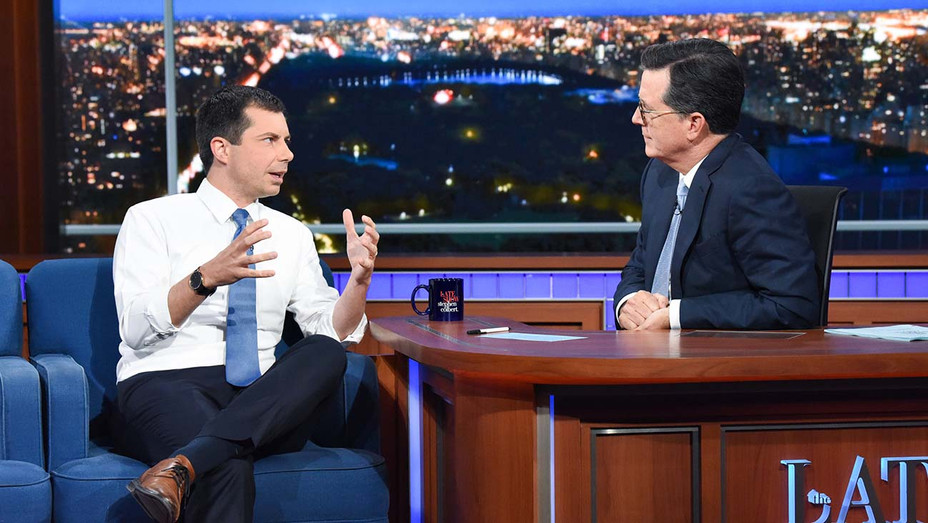 The Late Show with Stephen Colbert_Pete Buttigieg - Publicity - H 2019
