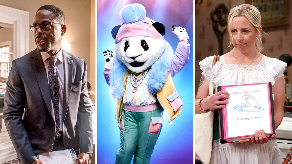 This is Us - The MAsked Singer - The Conners - Publicity - Split - H 2019