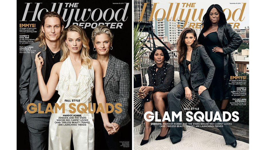 THR Issue 31 Glam Squads Cover_Split - THR - H 2019