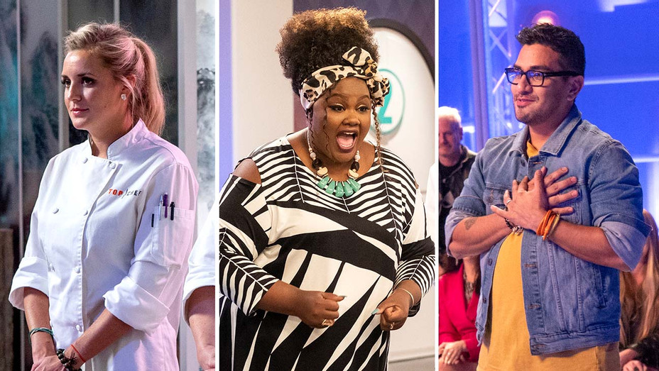 Top Chef, Nailed It, Project Runway - Publicity Stills - Split - H 2019