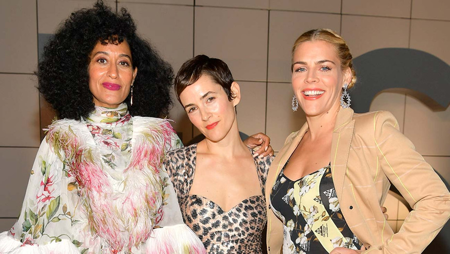 Tracee Ellis Ross, Karla Welch, and Busy Philipps - Getty - H 2019