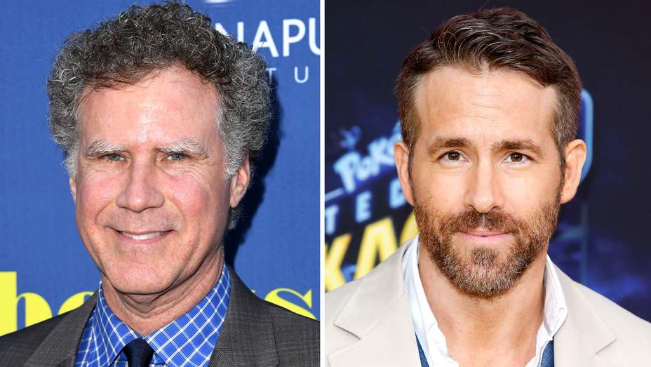 Will Ferrell and Ryan Reynolds - Getty - Split - H 2019