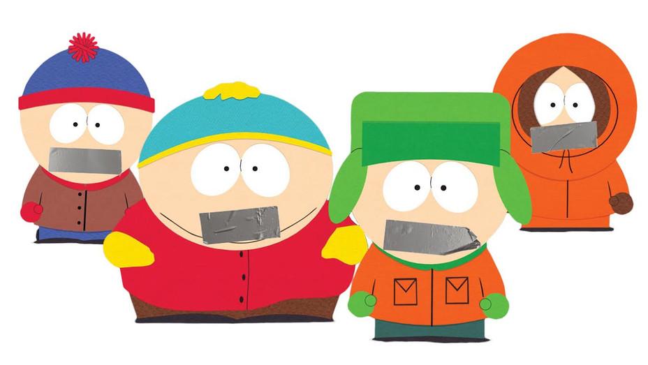 Censored South Park Illo - H - 2019