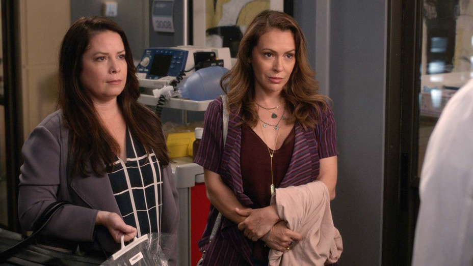 "GREY'S ANATOMY - ""Reunited"" -HOLLY MARIE COMBS, ALYSSA MILANO- Publicity-H 2019"