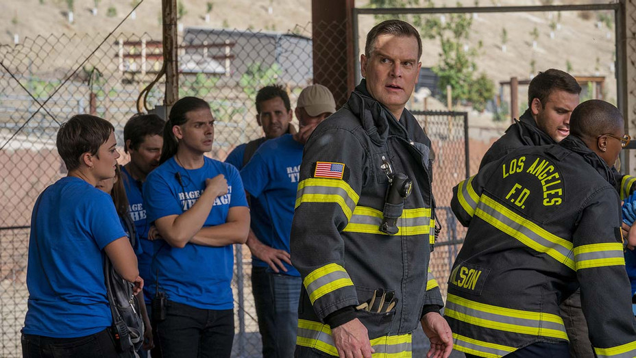 """9-1-1: Peter Krause in the """"Rage"""" - Publicity-H 2019"""