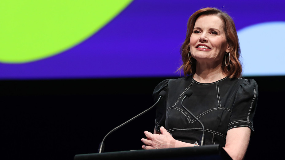 Geena Davis at New Zealand Power of Inclusion Summit 2 - H