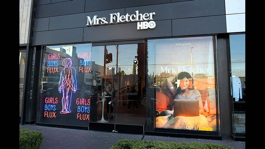 A general view of atmosphere at HBO's Mrs. Fletcher Pop-Up Preview Party -Getty handout - H 2019