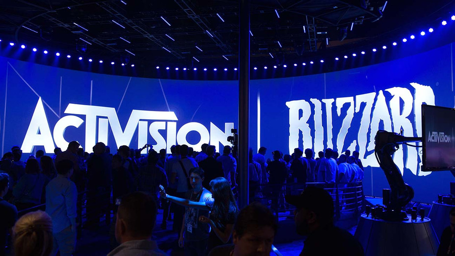 A view of the Activision Blizzard booth - Getty - H 2019