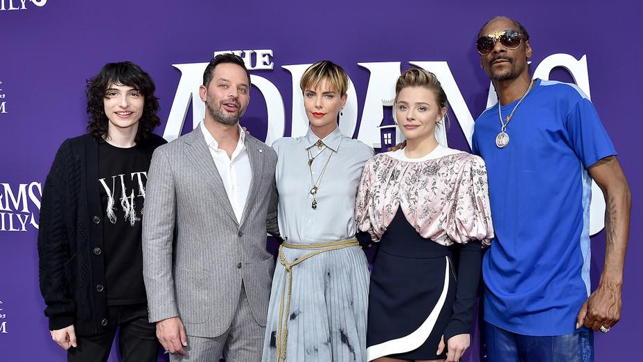 Addams Family premiere - H Getty 2019