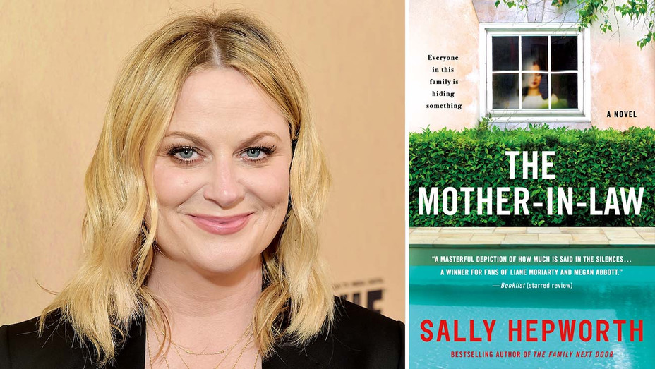 Amy Poehler - The Mother-in-Law - Getty - book cover - Publicity -Split - H 2019