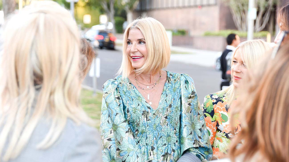 Candace Bushnell attends cocktails and conversation - Getty - H 2019