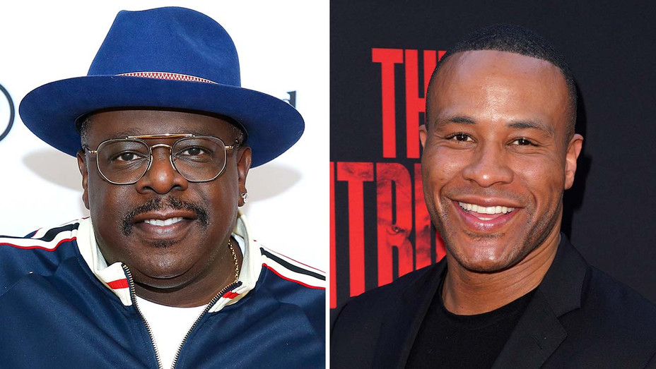 Cedric the Entertainer_DeVon Franklin_Split - Getty - H 2019
