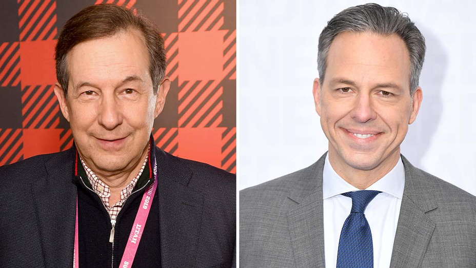 Chris Wallace and Jake Tapper -Split-Getty-H 2019