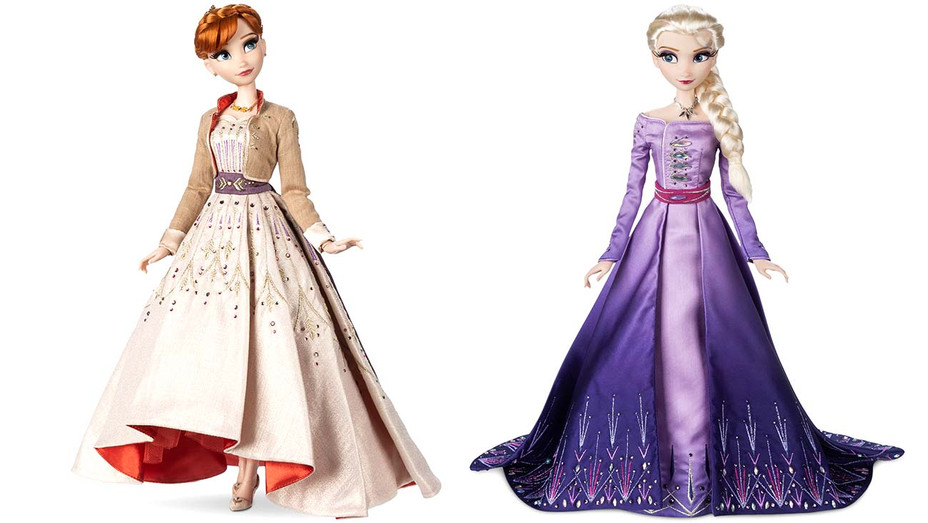 Disney Anna and Elsa Doll- Split- Publicity-H 2019